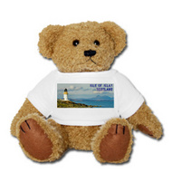 Picture of a teddy bear with an Islay t-shirt