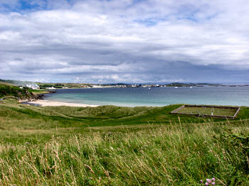 Picture of a view over a bay, Kilnaughton Bay on Islay
