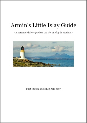 Screenshot of the cover of 'Armin's Little Islay Guide'