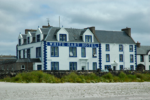 Picture of the White Hart Hotel in Port Ellen, Isle of Islay