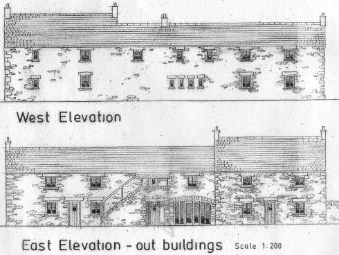 Picture of the sketch of a building