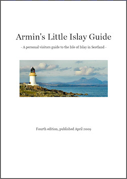 Picture of the cover of Armin's Little Islay Guide