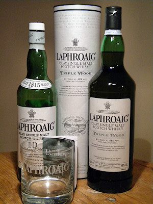 Picture of a Laphroaig Triple Wood