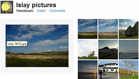 Screenshot of a Flickr photo collection