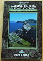 Picture of the cover of the Walking on Jura, Islay and Colonsay book