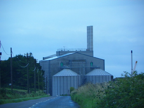 Picture of the Port Ellen Maltings from the north