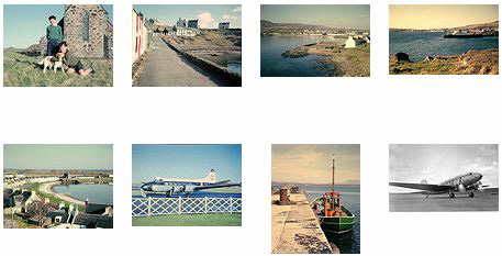 Screenshot of a few old Islay pictures in a gallery