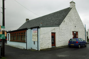 Picture of the Cybercafe in Port Ellen, Islay