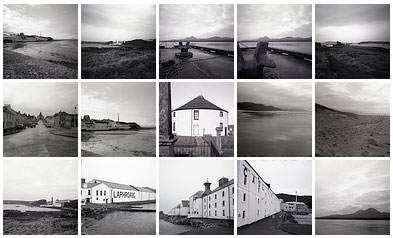 Screenshot of a picture gallery on flickr, showing black and white pictures
