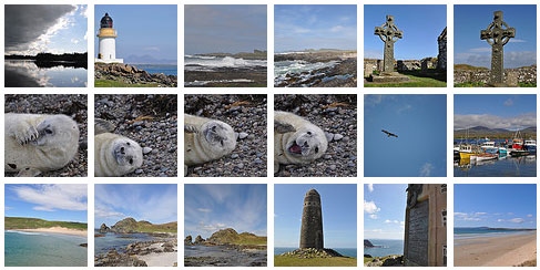 Screenshot of thumbnails from a flickr picture gallery