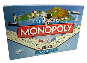 Picture of the Islay edition of Monopoly