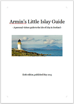Cover of the sixth edition of Armin's Little Islay Guide