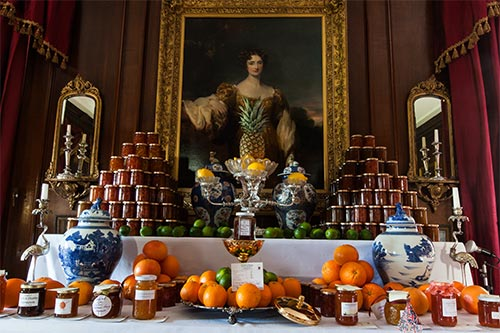 Picture of a lot of marmalade at a competition display