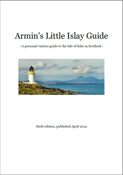 Screenshot of the cover of Armin's Little Islay Guide