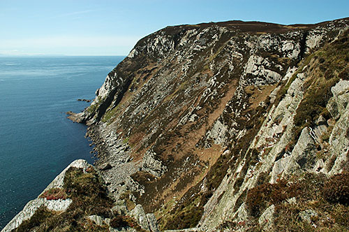 Picture of some impressive cliffs on the Isle of Islay